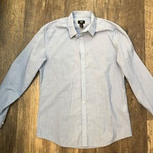 Light Blue H&M Dress Shirt - Slim Fit - Sz L